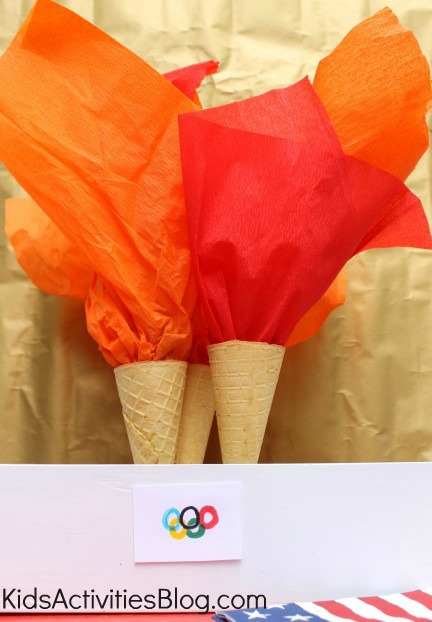 edible olympic torches