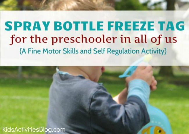 freeze tag for preschoolers