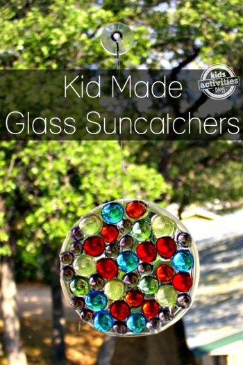 kid made glass sun catchers
