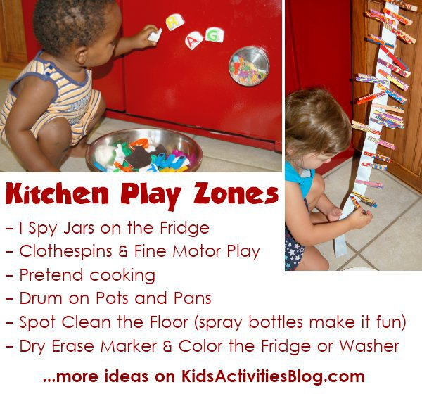 Ways to play in the kitchen
