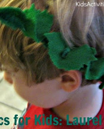 olympics for kids laurel wreath
