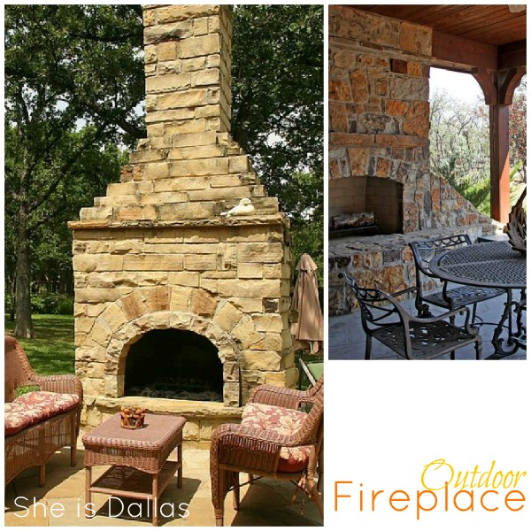 outside fireplaces