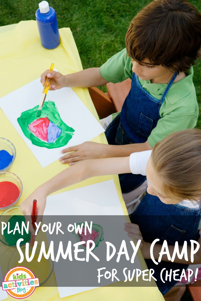 plan your own summer day camp for little or no money