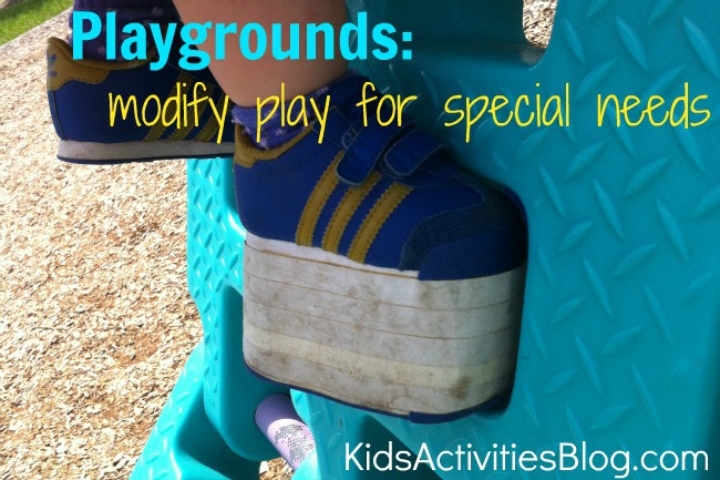 playgrounds modify play for special needs