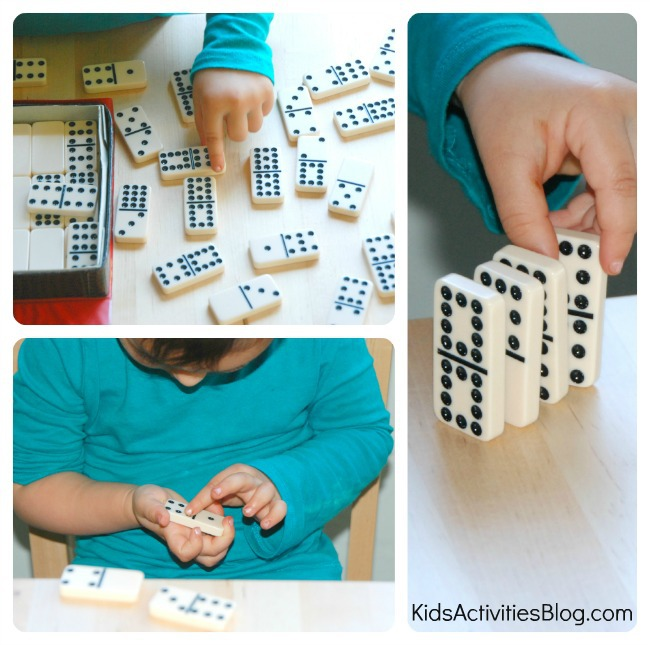 preschool-math-learing-with-dominoes-collage-2