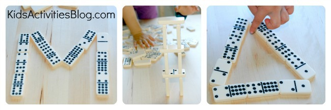 preschool-math-learing-with-dominoes-collage-3