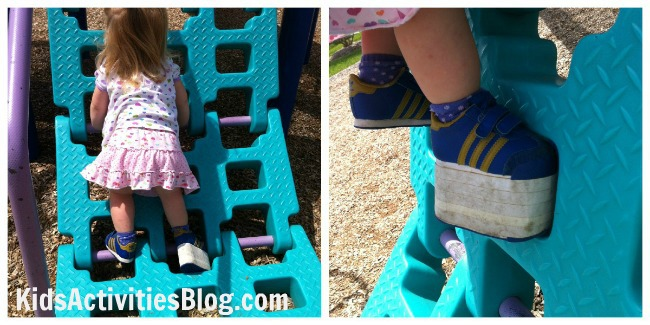 special needs playground collage