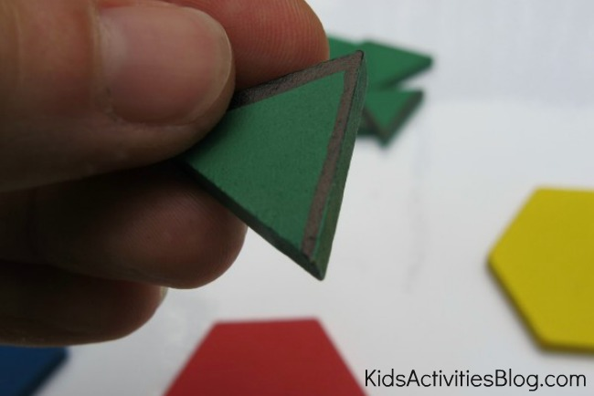 triangle math for kids