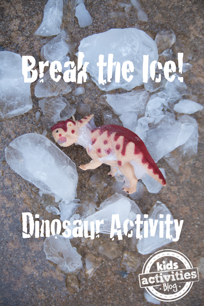 Break the Ice Dinosaur Activity