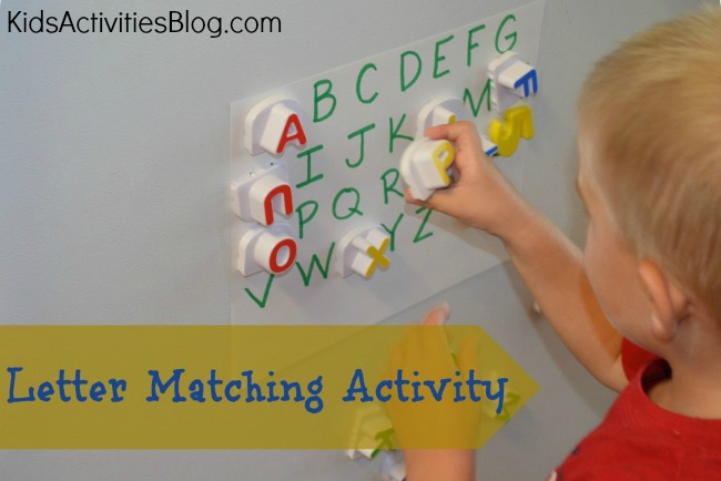 Pre-Reading: Letter Match Game