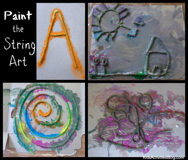 Paint the String Art