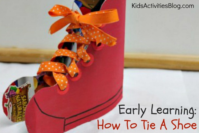 Early Learning: How To Tie A Shoe