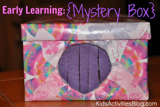 early learning mystery box