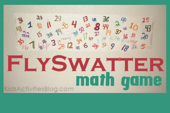 Cool Math Game: With a Fly Swatter
