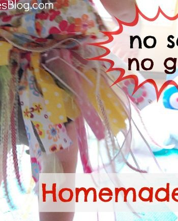 no sew no glue homemade tutu feature