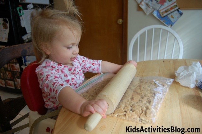 peanut butter cups rolling pin