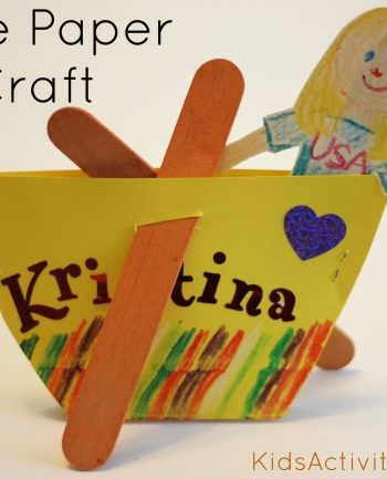paper crafts: make a boat
