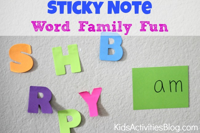 Word Family {Game for Kids}