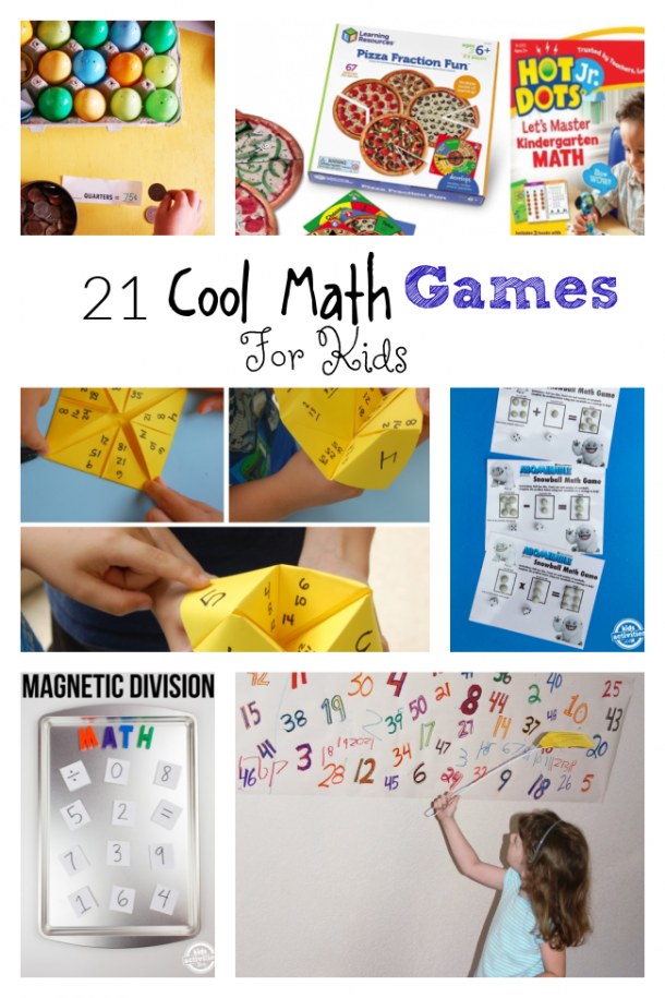 21 cool math games for kids