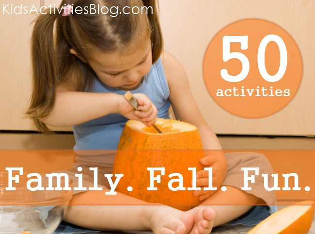 50 Activities for Autumn