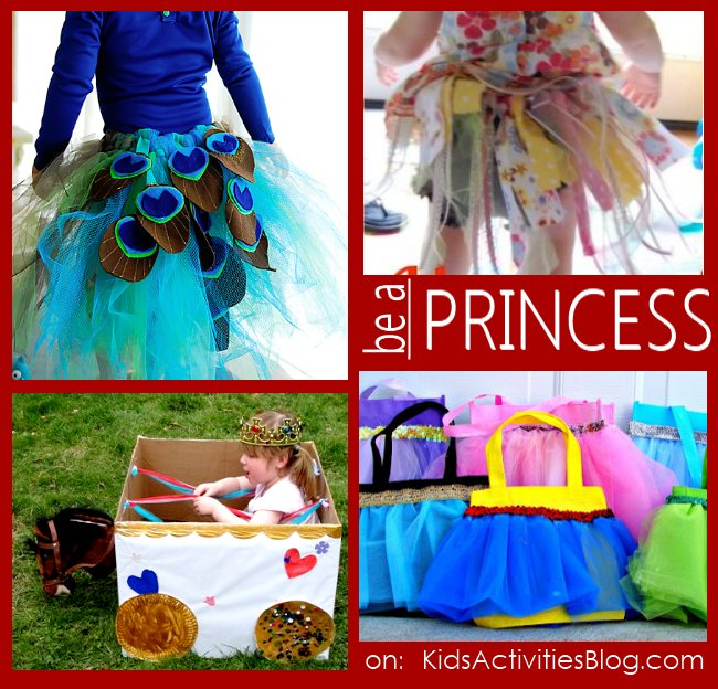 Princess games for girls to play - girl games - 4 different types of princess games shown including dress up and a homemade chariot