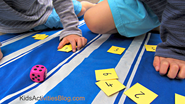 math game for learning numbers