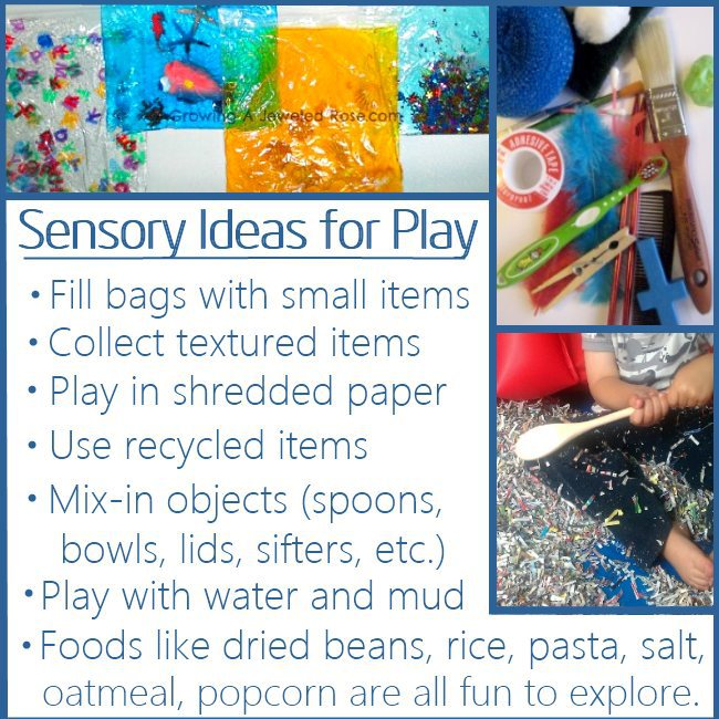 Tons of ideas of ways that you can play with your one-year old kids