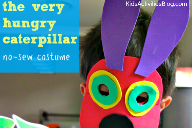 The Very Hungry Caterpillar No Sew Costume