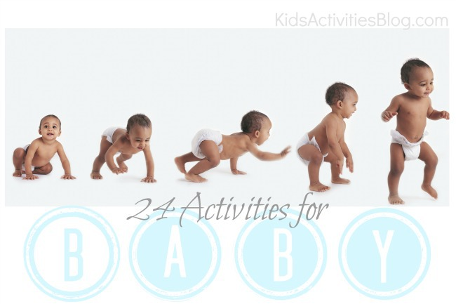 Development of Play: 24 Ways to Explore with your Baby