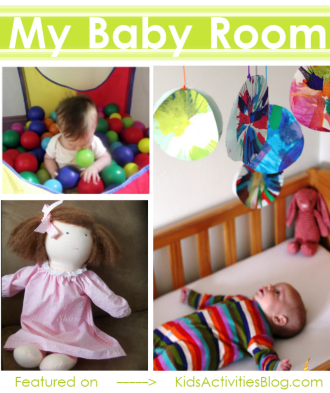 My baby room - ideas for decorating a nursery