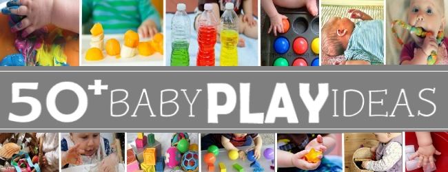TONS of baby play ideas!