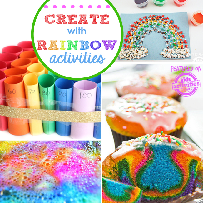 colorful kids rainbow activities