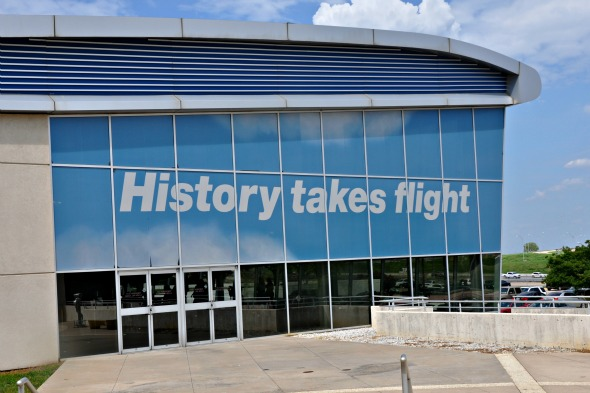 cr smith museum history takes flight
