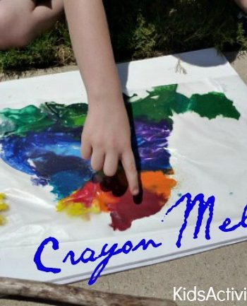 crayon melting
