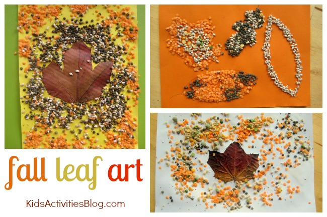6 Awesome Art Activities for Kids Using Fall Leaves