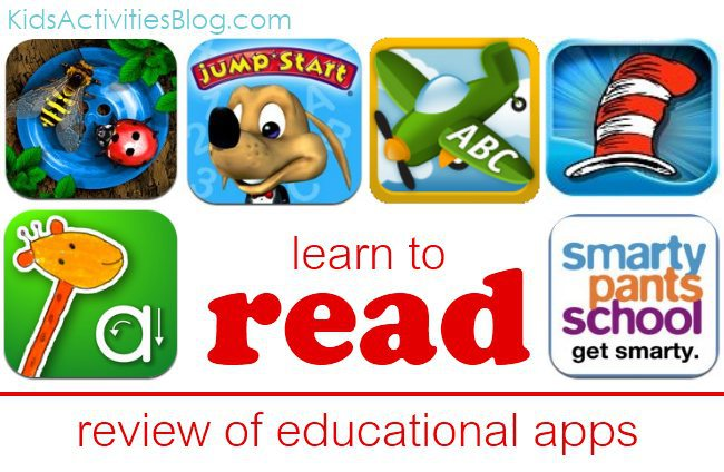 literacy apps for kids... and a couple dozen other apps to help kids learn through games.