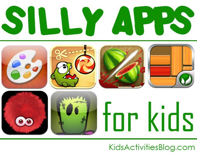 silly apps for kids