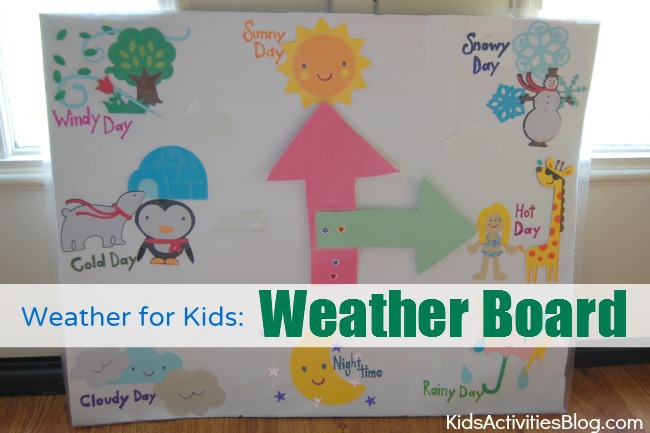 Weather for Kids: Weather Board