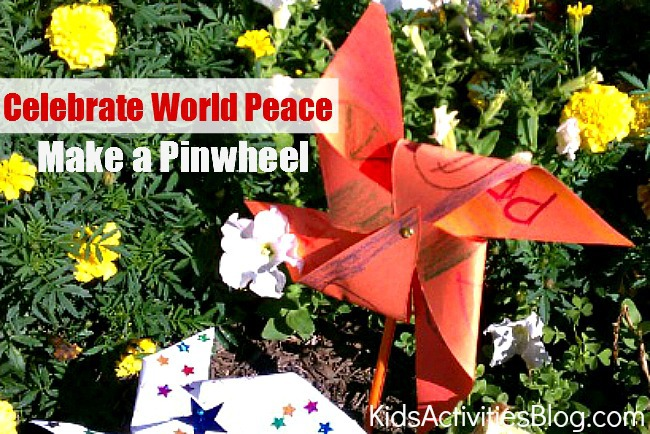 World Peace Activity for Kids