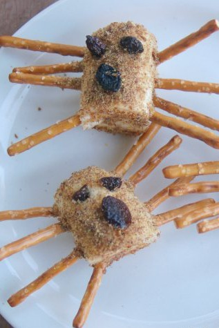 Banana Spider Snack - Kids Activities Blog
