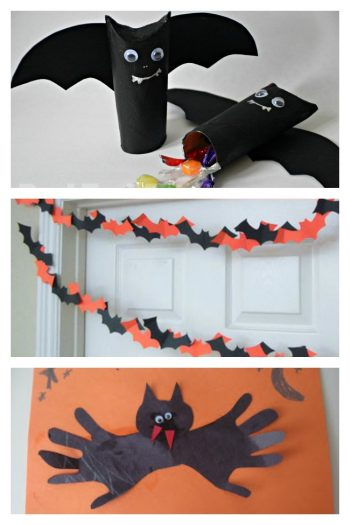 These simple bat crafts are perfect for last minute activities with the kids - I love #10 for parties!