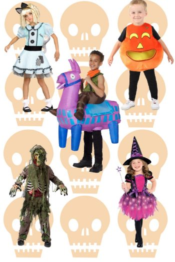 A collage of the top Halloween costumes for 2020!
