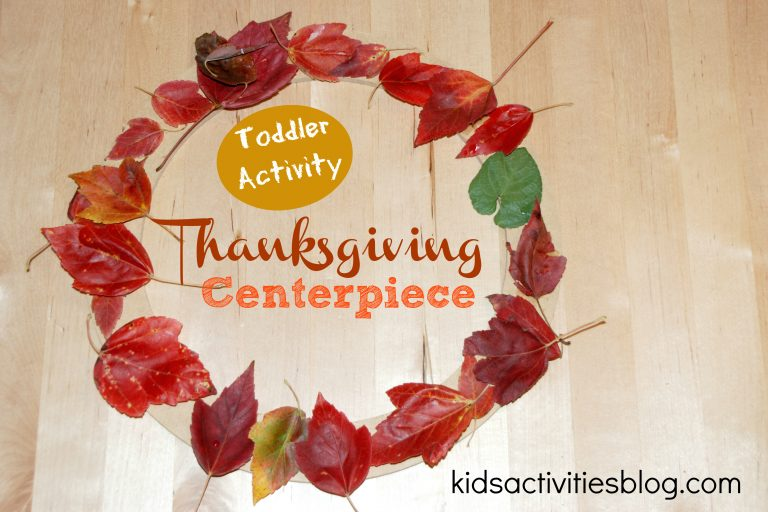 {Cute} Thanksgiving Craft for Toddlers
