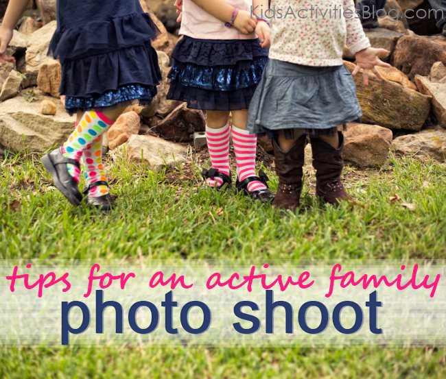 tips for a photo shoot... when you have active kids