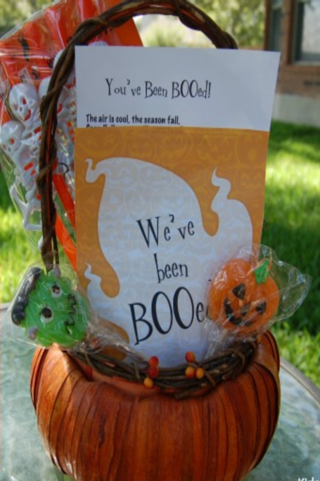 You've Been Booed! How to Boo Your Neighbors for Halloween