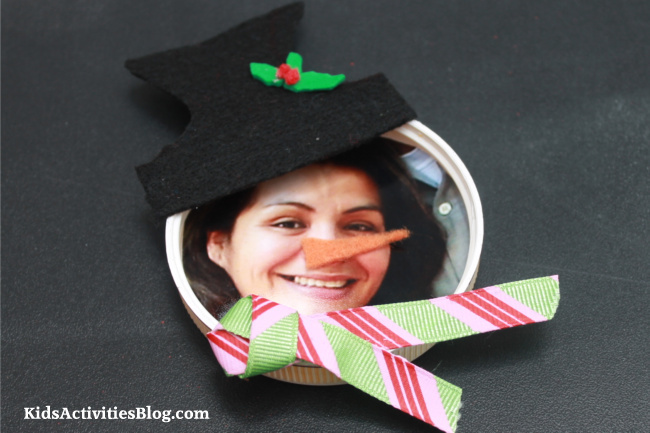 {December Post} Snowman Magnetic Picture Frame