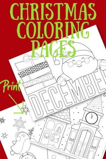 Print Cutest Christmas Coloring Page from Kids Activities Blog