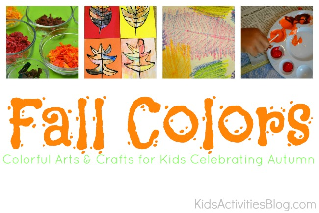 15 {Colorful} Activities Celebrating Fall Colors