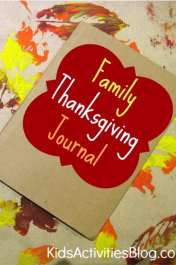 family thanksgiving journal