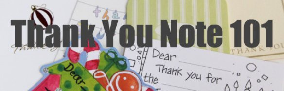 thank you notes - great ideas for kids who can't write